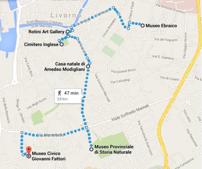 prova mappa itinerario