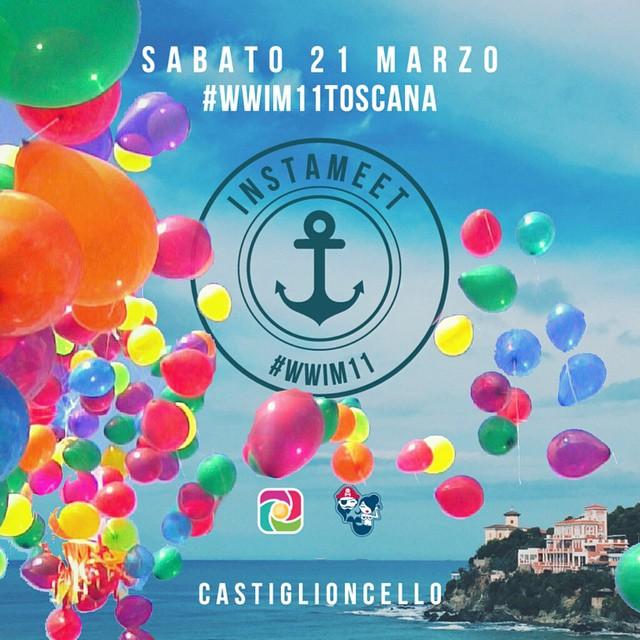 Instagram Worldwide Instameet a Castiglioncello! Sabato 21 Marzo #INSTAMEET #WWIM11