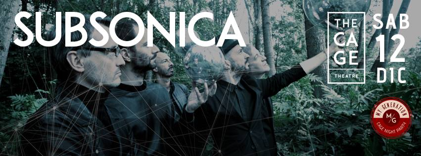 SUBSONICA || THE CAGE THEATRE || 12DIC15