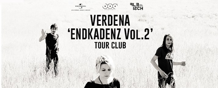 VERDENA in ENDKADENZ Vol.2 ||05DIC15 ||THE CAGE THEATRE