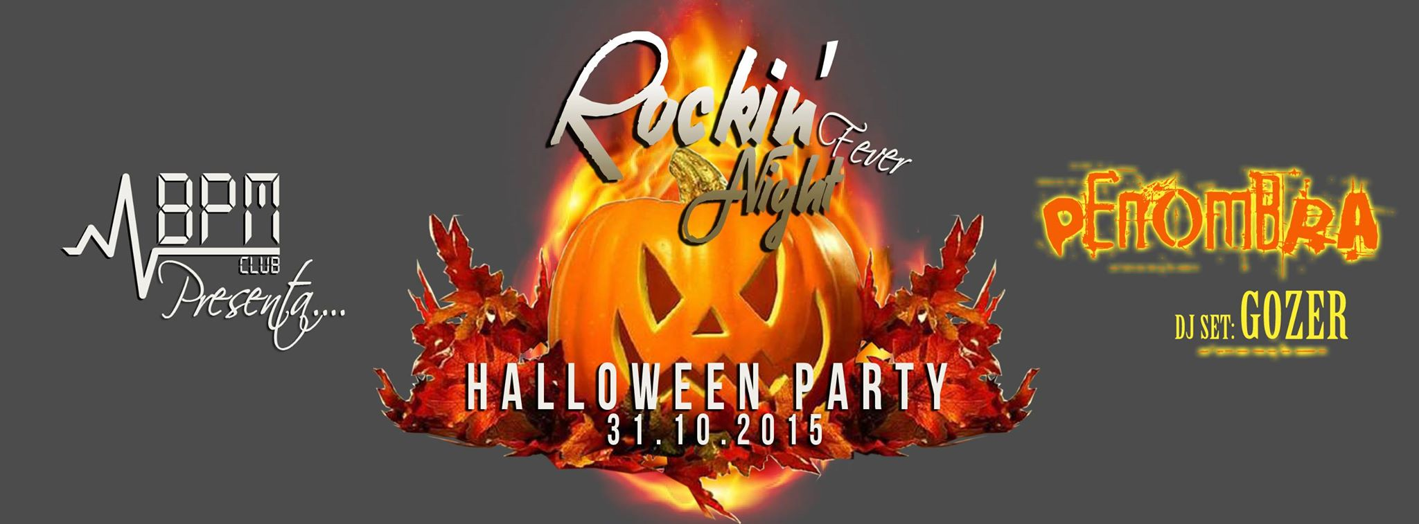 Rockin' night fever – Halloween Party