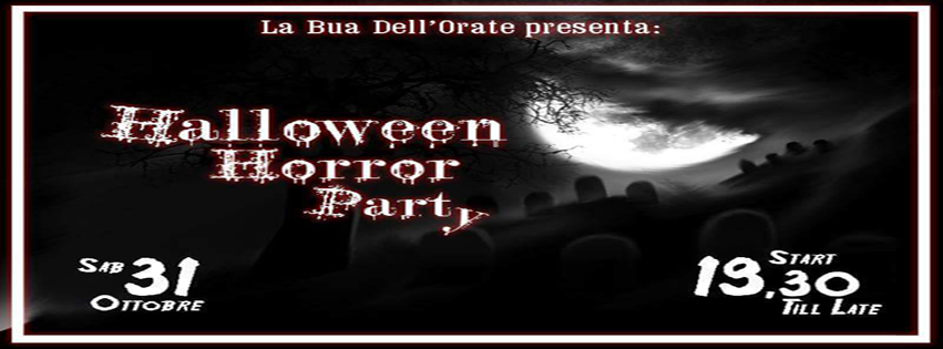 Halloween HORROR Party @ La BUA