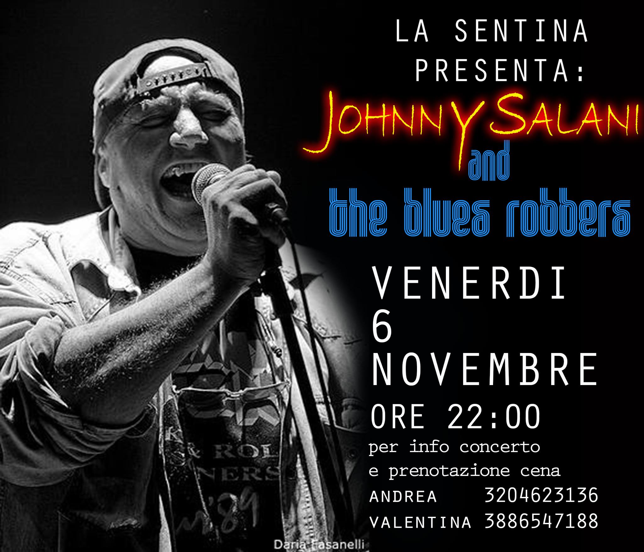 JOHNNY SALANI & The blues robbers @ Circolo La Sentina