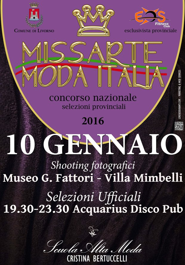 MISS ARTE MODA ITALIA 2016