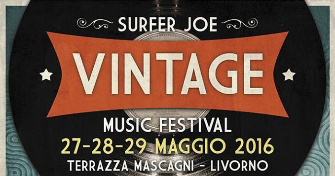 Surfer Joe VINTAGE Festival 2016