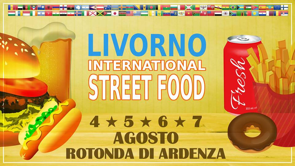 LIVORNO international Street Food, dal 4 al 7 Agosto