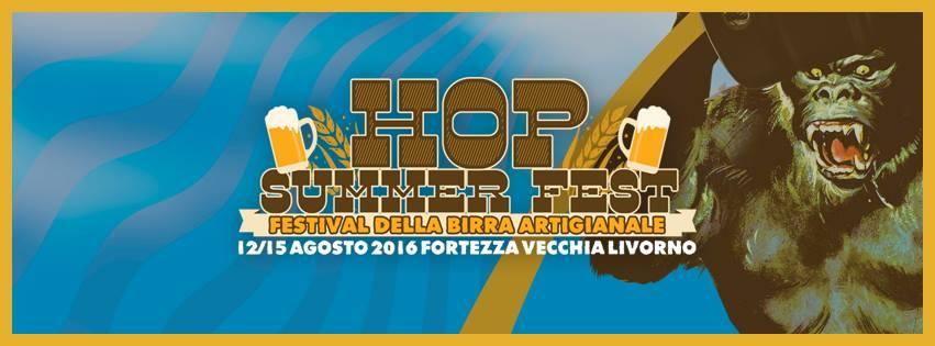 Arriva l'HOP SUMMER FEST, il primo festival della birra artigianale a #Livorno
